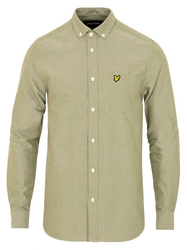 Woodland Green Oxford Shirt