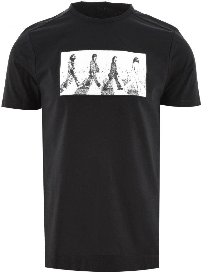 Black The Fab Four BP T-Shirt Designed by Craig Alan