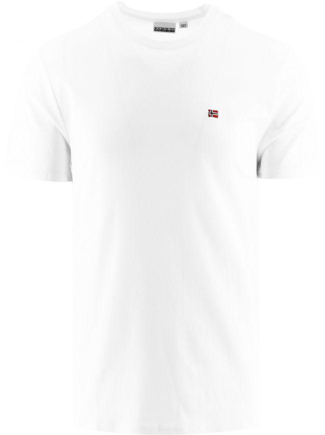 White Short Sleeve Salis T-Shirt
