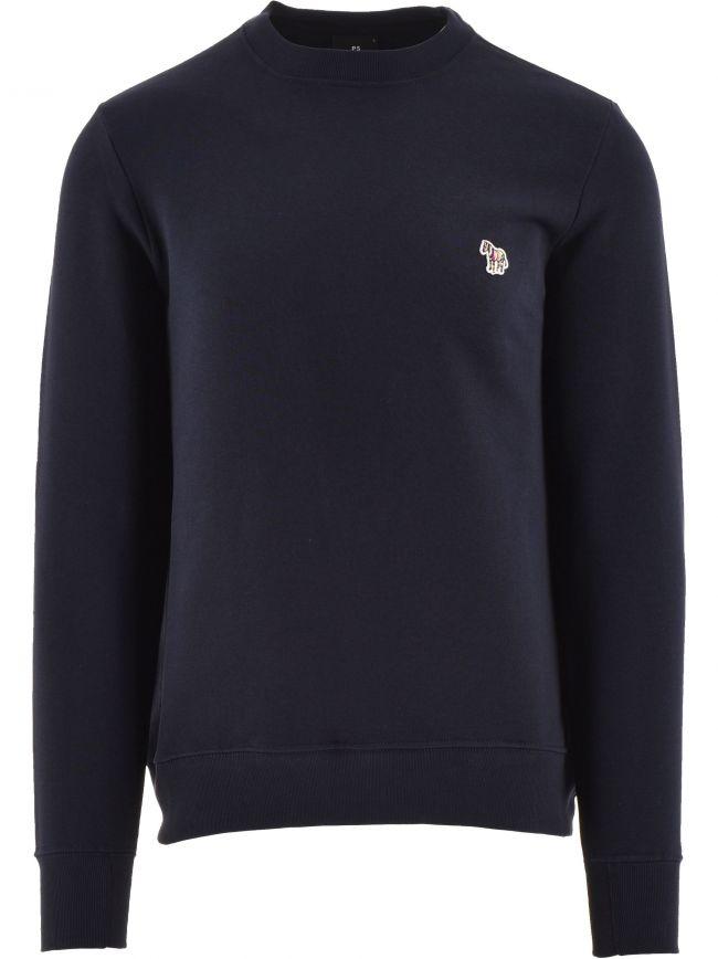 Navy Regular Fit Sweatshirt