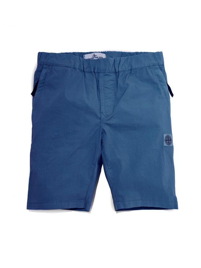 Blue Packable Short