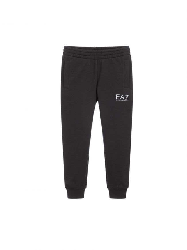 Black Tapered Jog Pant