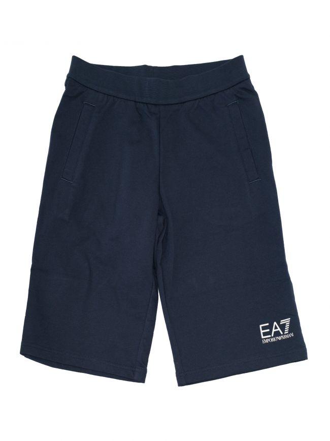 Navy Logo Shorts