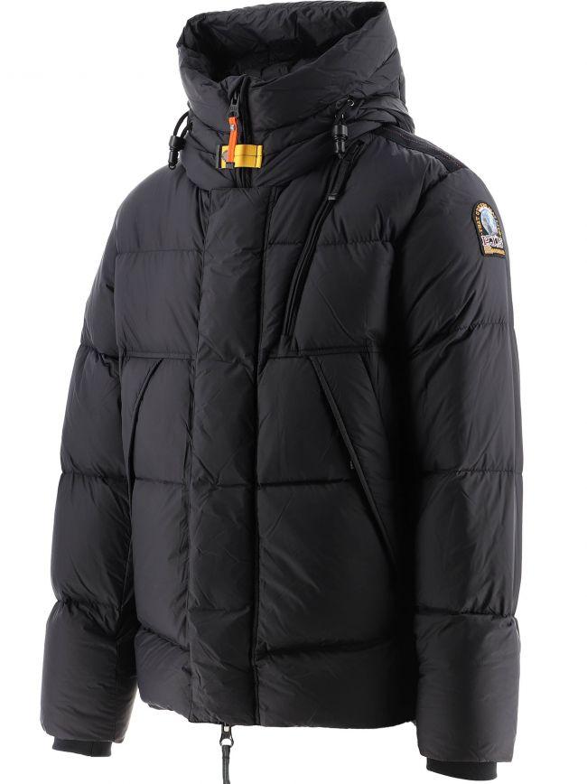 Black Cloud Hooded Down Jacket
