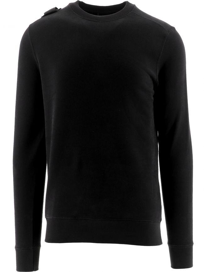 Black Core Crew Neck Sweatshirt