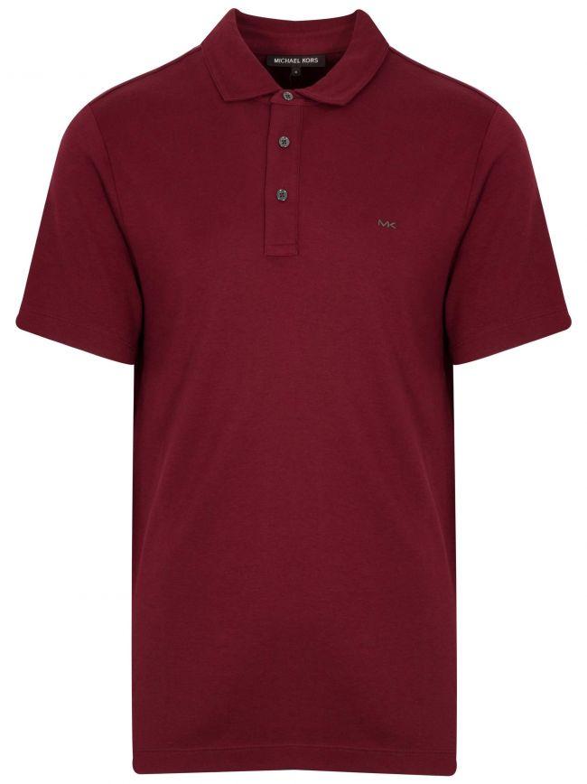 Classic Merlot Polo Shirt