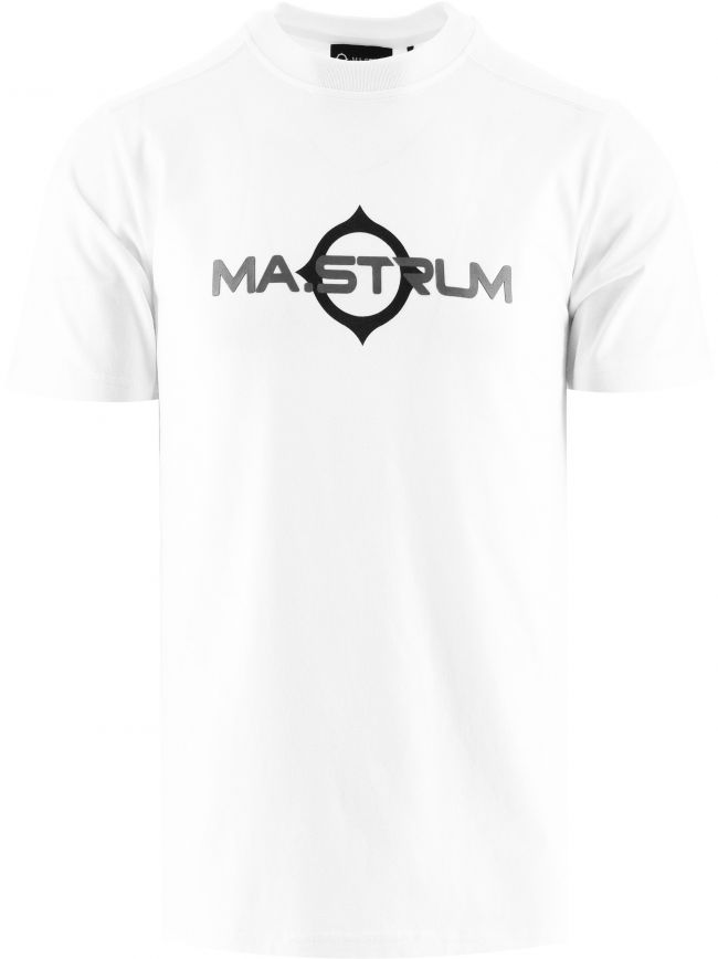 White Short Sleeve Logo Print T-Shirt