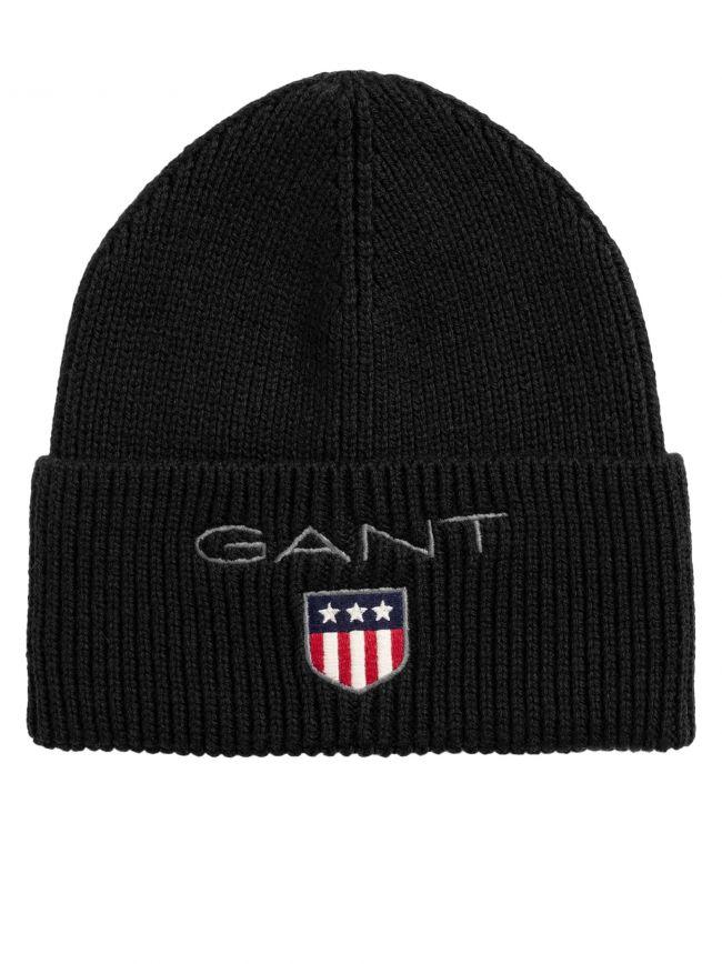 Black Shield Logo Hat