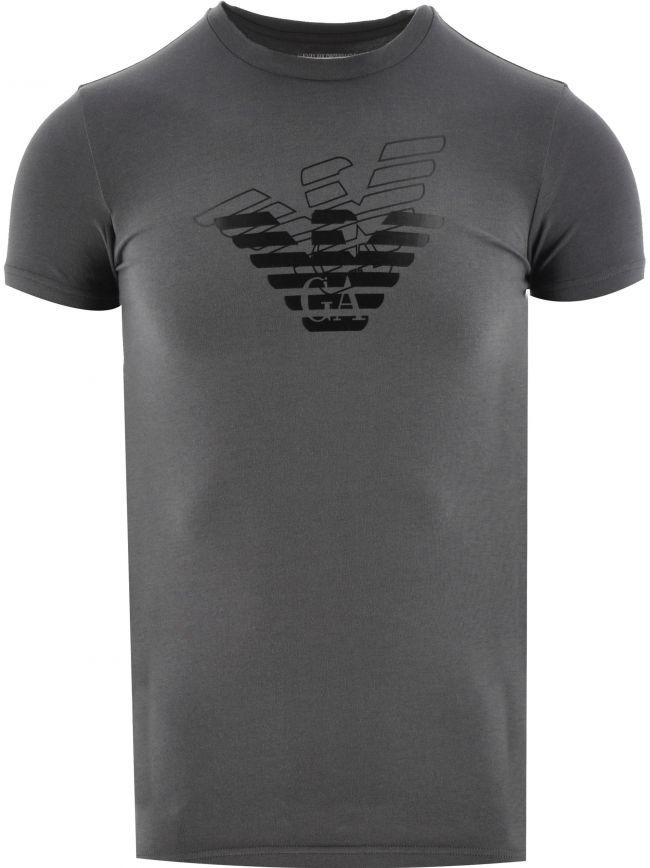 Grey Short Sleeve Logo T Shirt