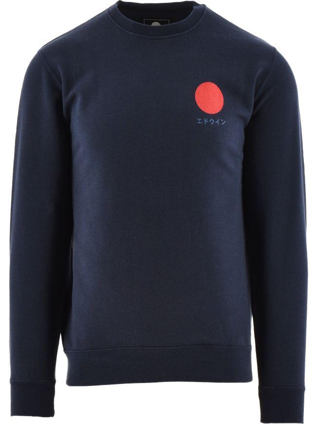 Navy Japanese Sun Sweatshirt