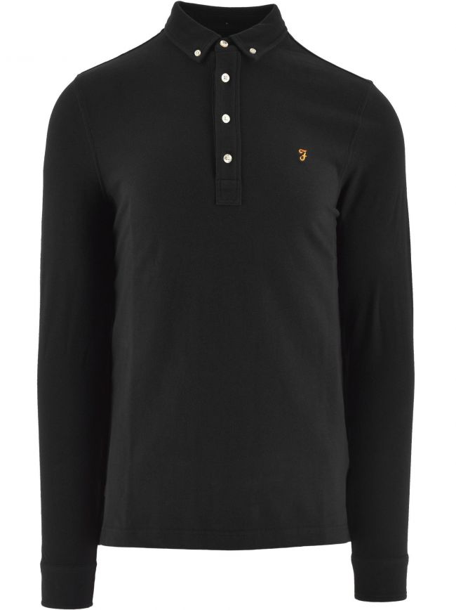 Black Ricky Polo Shirt