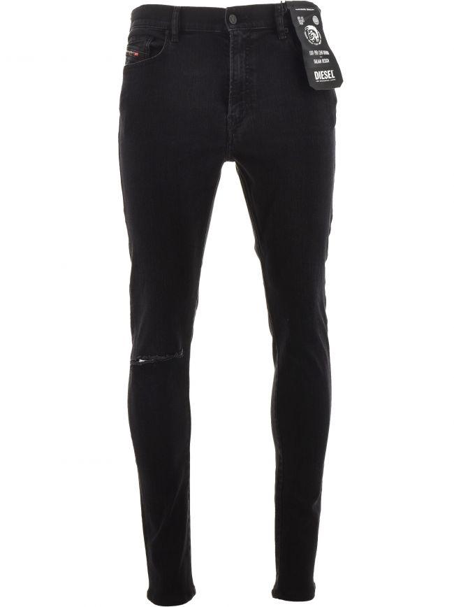 Black D-Amny-Y 32 Leg Jean