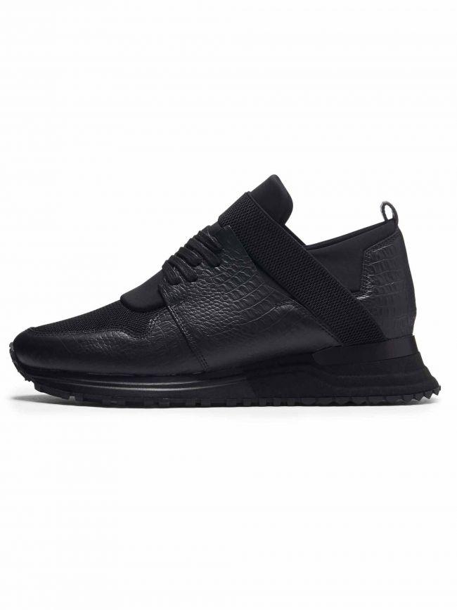 Black Croc Elast 2.0 Sneaker
