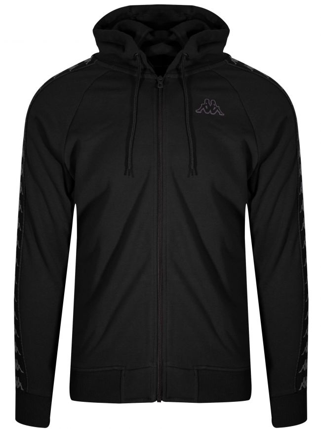 Black 222 Banda Arit Hooded Sweatshirt