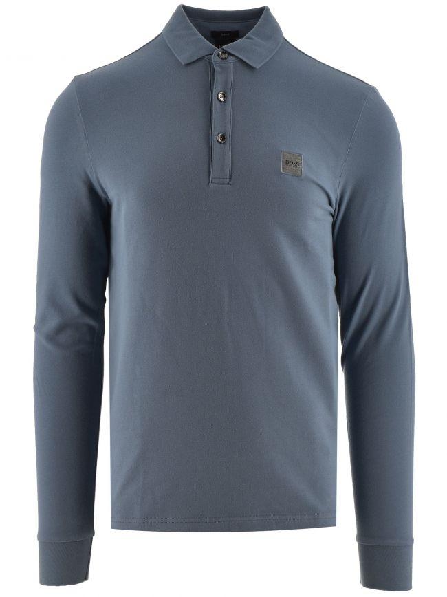 Dark Grey Passerby Polo Shirt