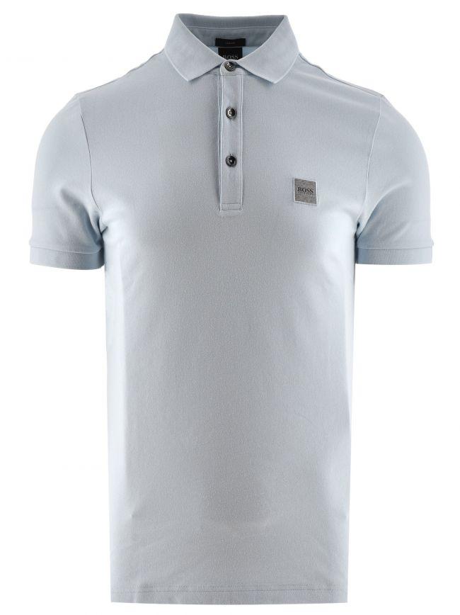 Pale Blue Passenger Polo Shirt