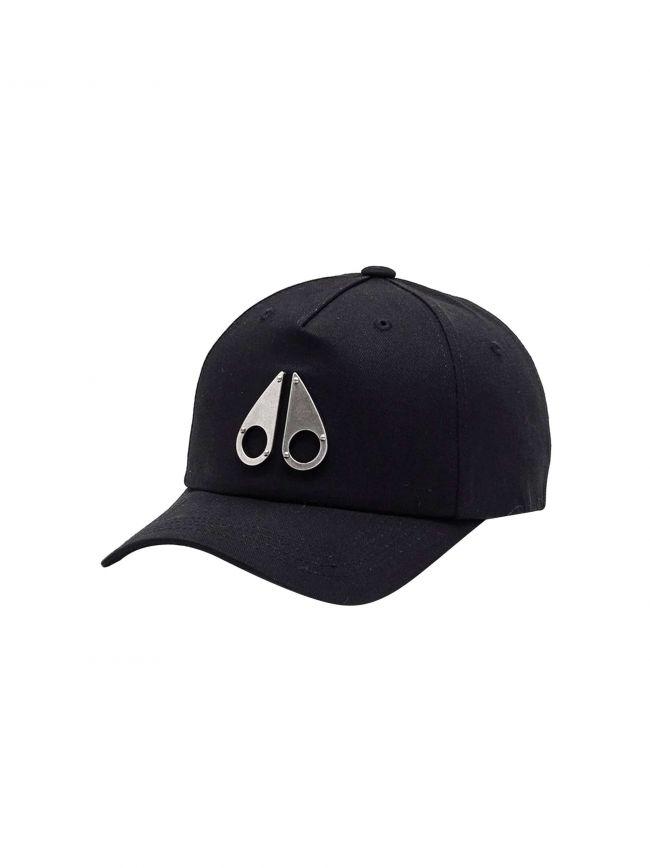 Black Logo Icon Cap