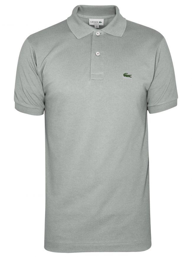 Classic Pale Grey Polo Shirt