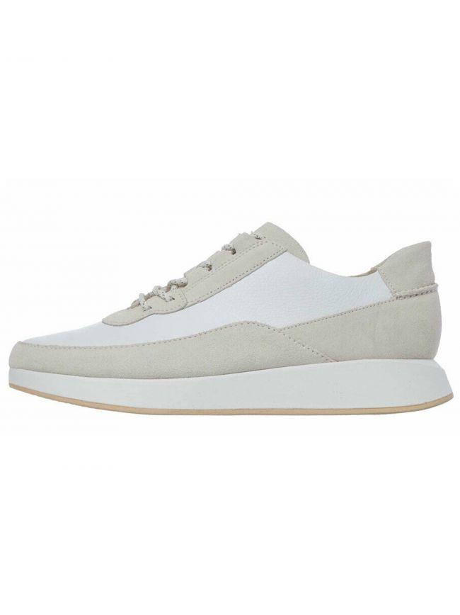 Off White Suede Kiowa Pace Sneaker