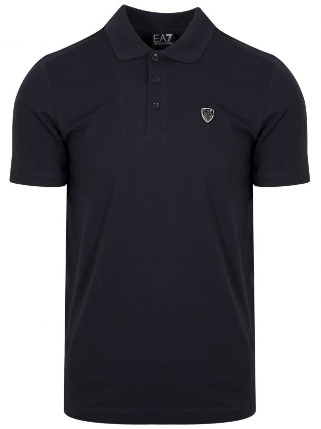 Navy Shield Polo Shirt