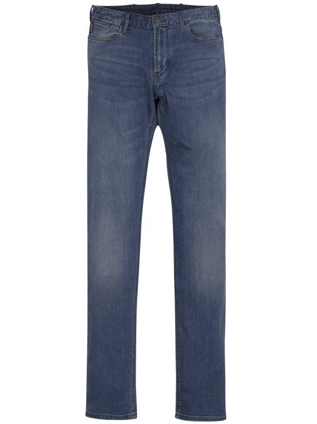 J06 Slim Fit Light Blue Jean