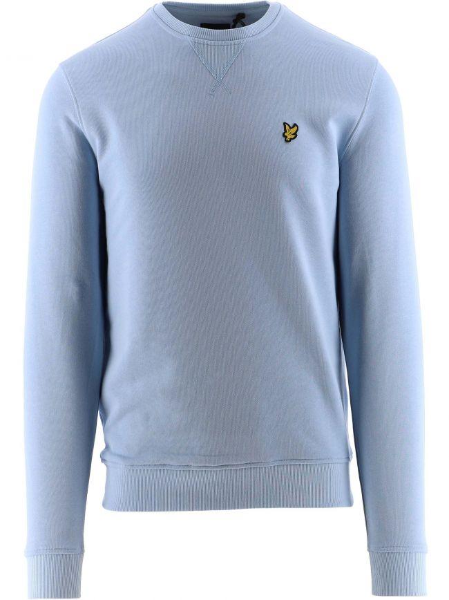 Light Blue Crew Neck Sweatshirt
