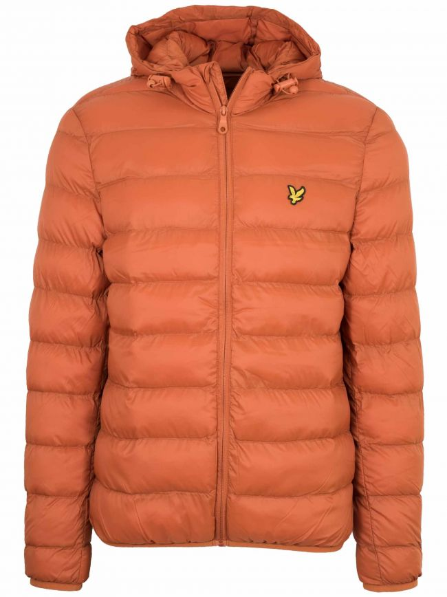 Tobacco Lightweight Puffer Jacket