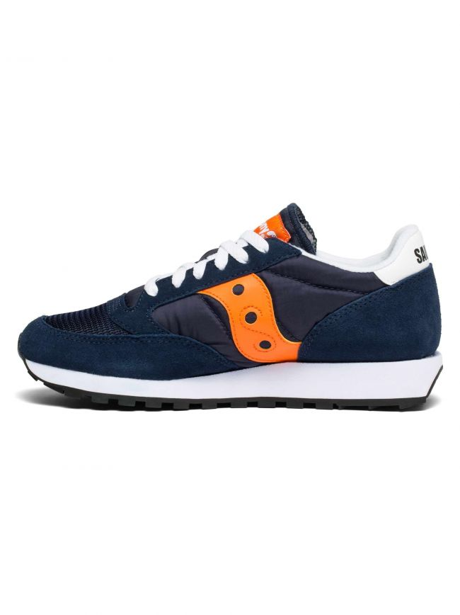 Navy Blue & Orange Jazz Original Vintage Sneaker