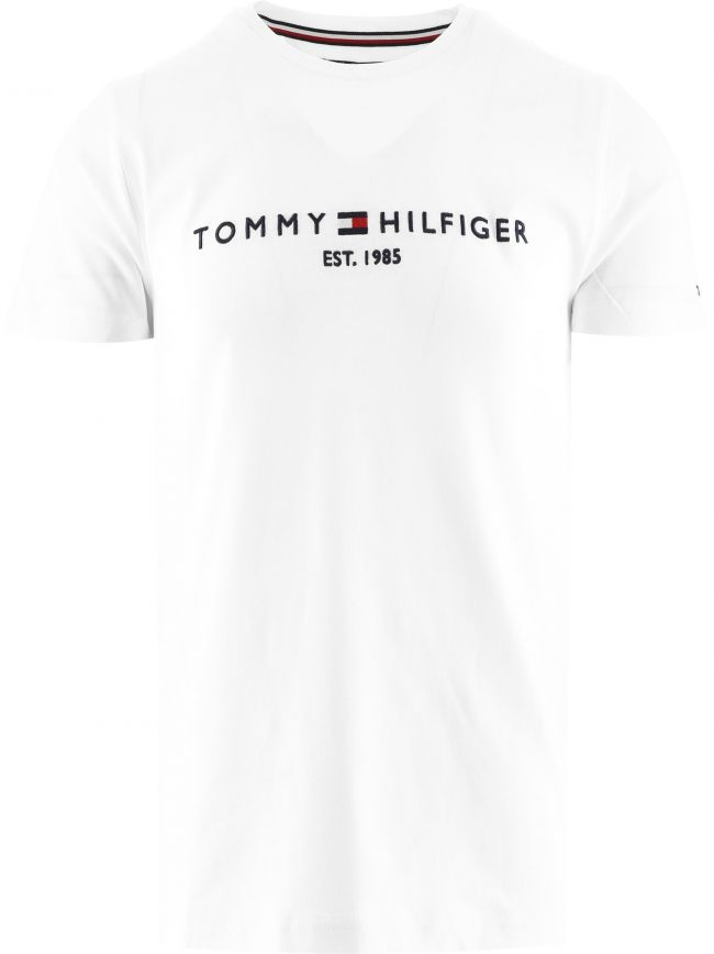 White Core Tommy Logo T-Shirt
