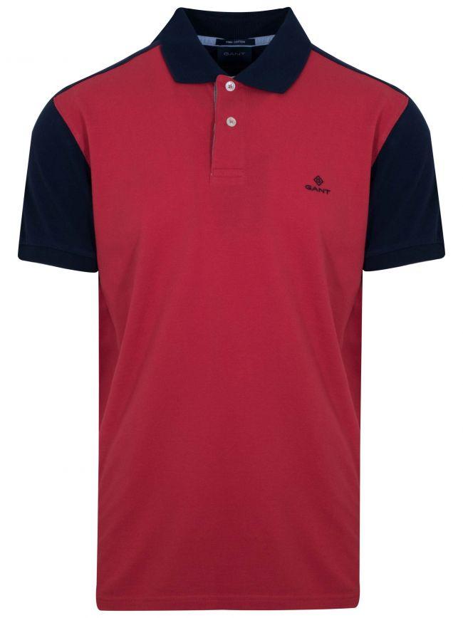 Cardinal Red Polo Shirt