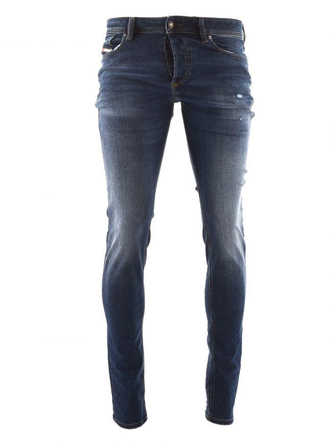 "Skinny Stretch Sleenker X Blue Jean 34"" Leg"