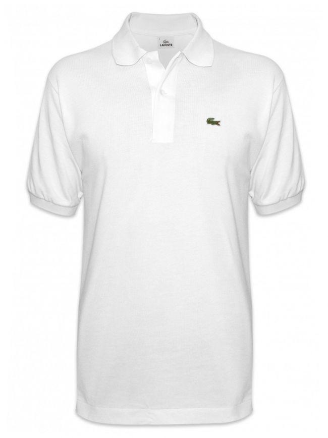 Classic L1212 White Polo Shirt