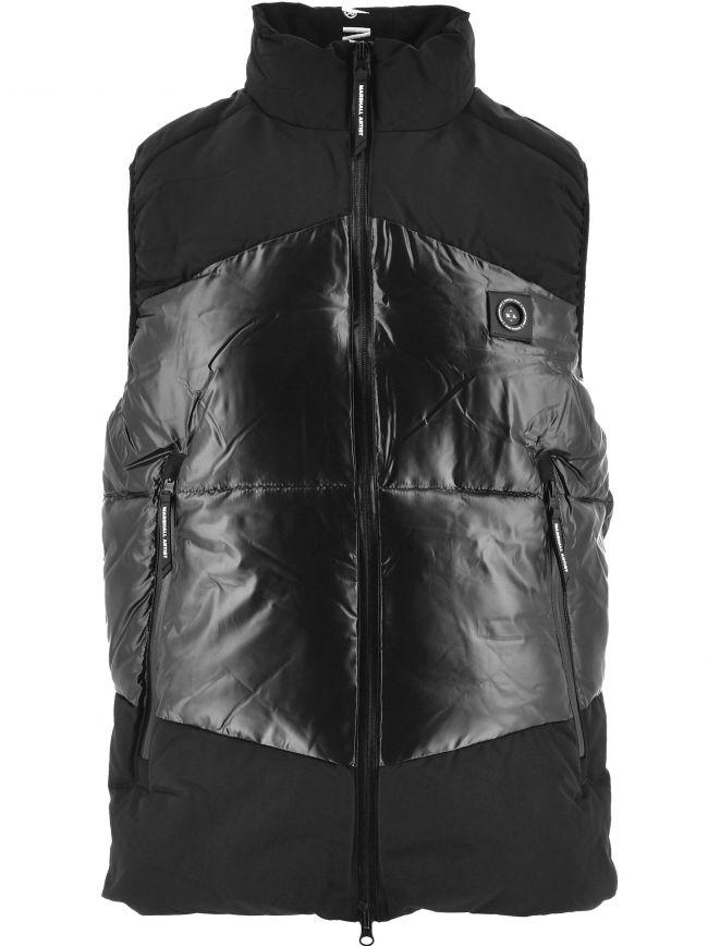 Black Kita Bubble Vest