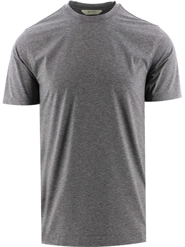 Grey Short Sleeve Marl T-Shirt