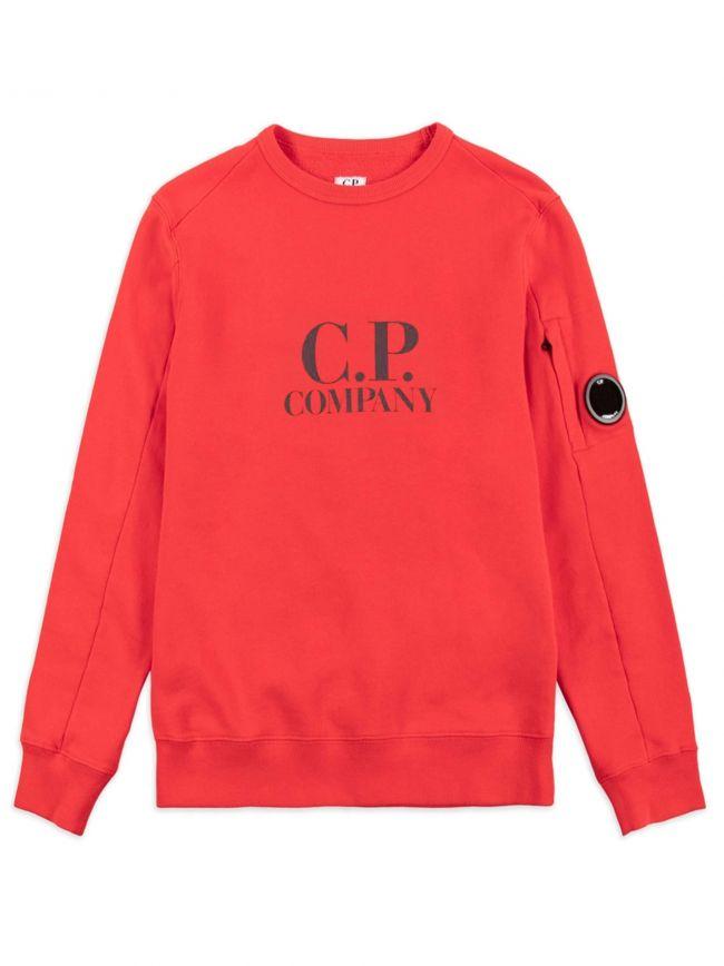 Red Logo Lens Sweatshirt