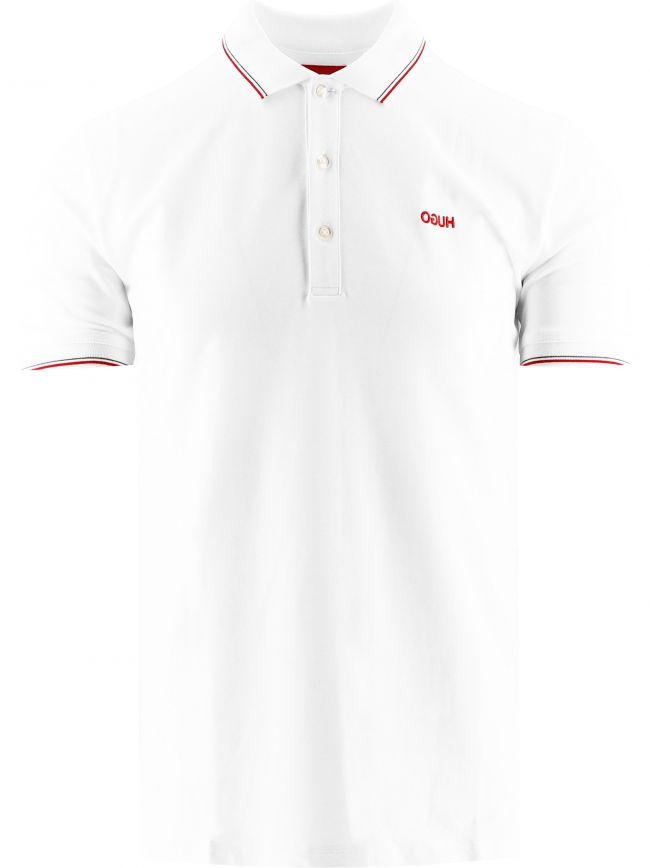White Dinoso212 Polo Shirt