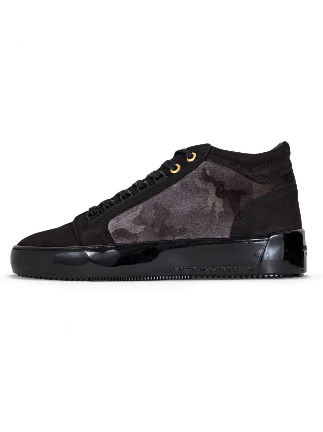 Anthracite Propulsion Mid Velvet Camo Sneaker
