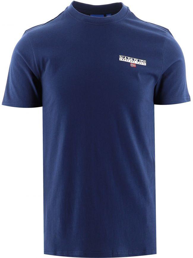 Blue Short Sleeve Ice T-Shirt