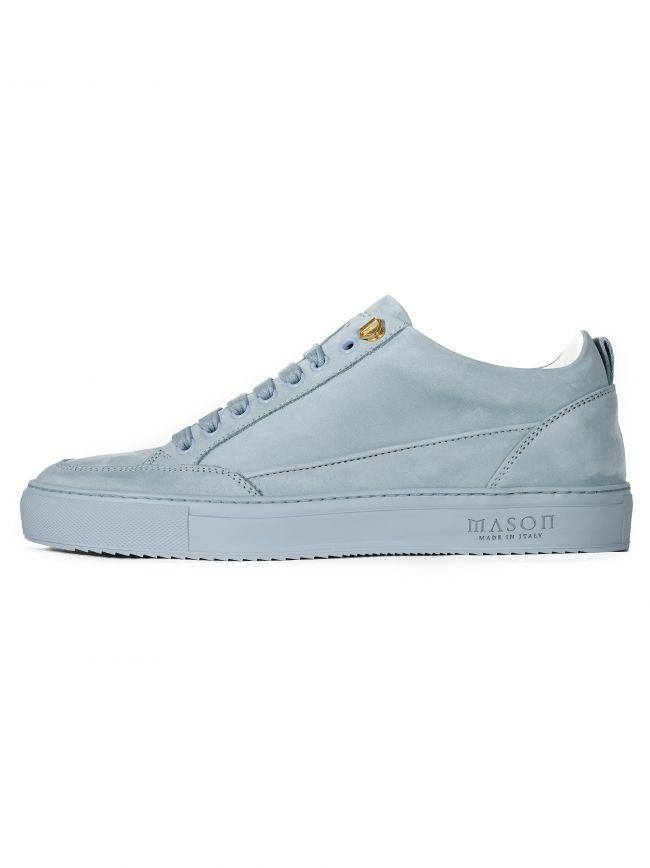 Sky Blue Nubuck Tia Low Sneaker