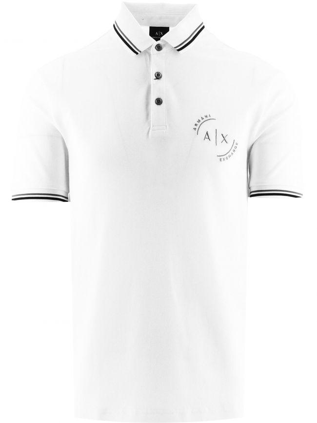 White Regular Fit Polo Shirt