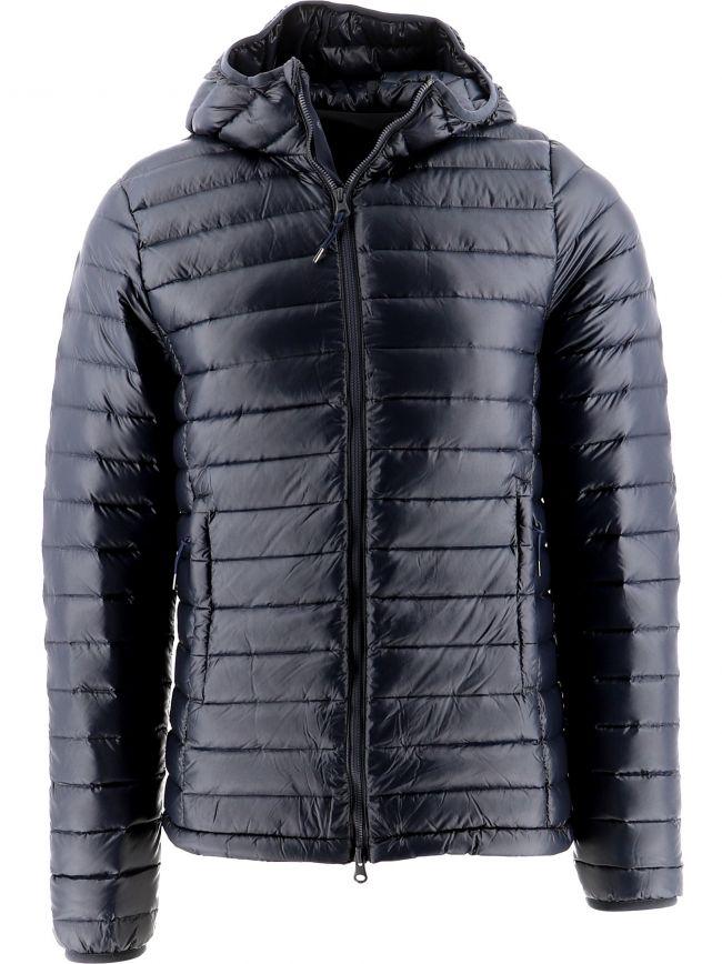 Navy Bruce Hooded Jacket