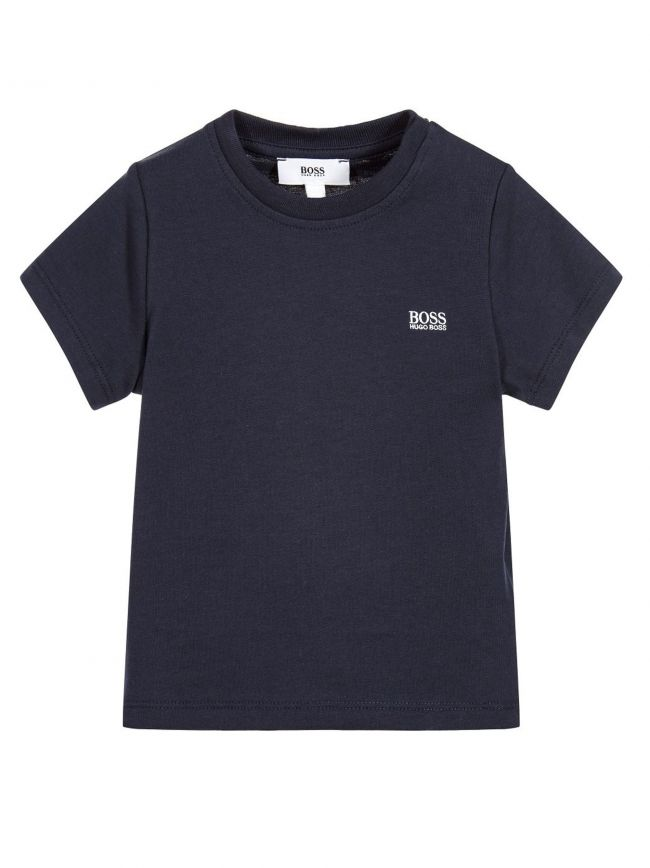 Navy Short Sleeve T Shirt