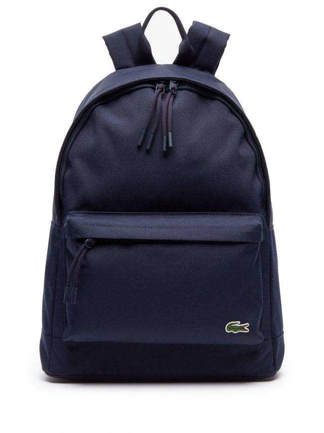 Navy Logo Backpack