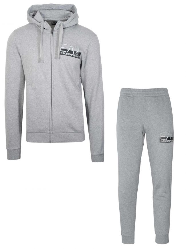 Light Grey Hooded Tracksuit