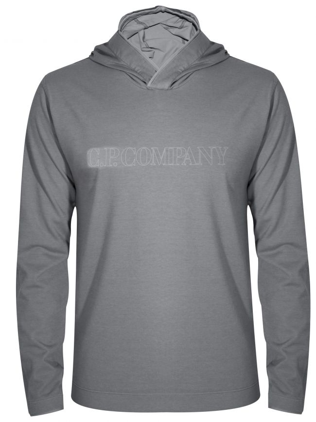 Grey Hooded T-Shirt