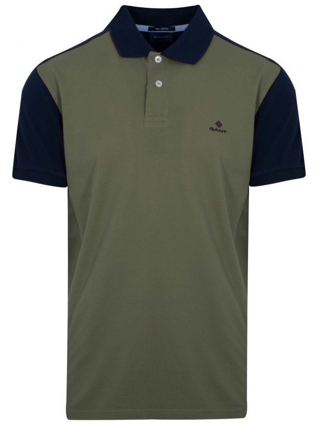Lichen Green Polo Shirt