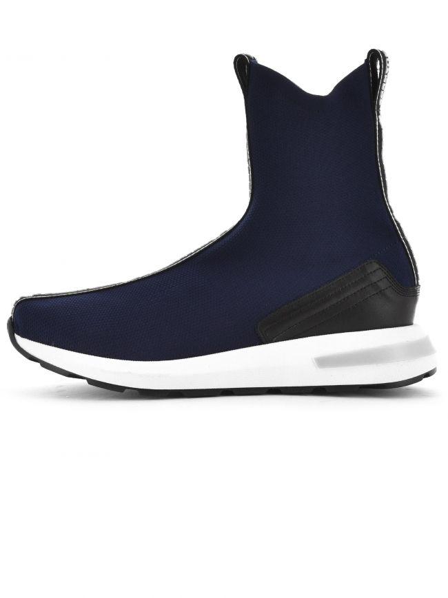 Navy Sock Sneaker