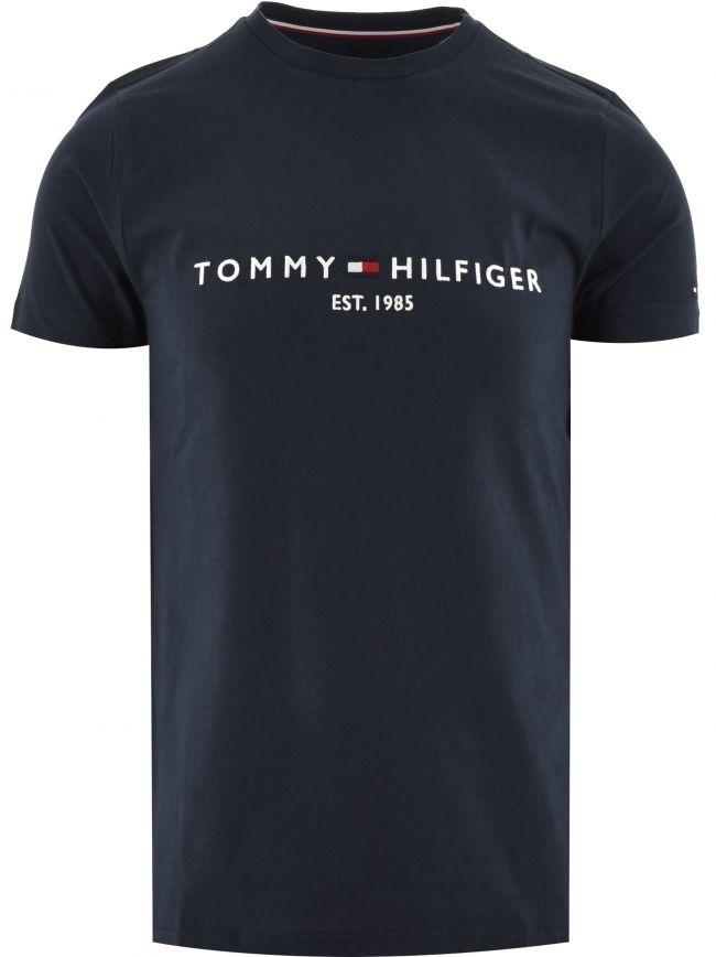 Navy Core Tommy Logo T-Shirt