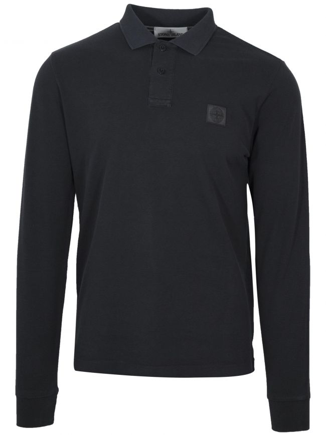 Dark Grey Garment-Dyed Polo Shirt
