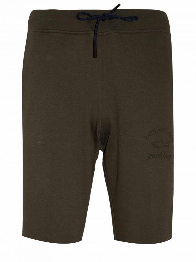 Khaki Cotton Shorts